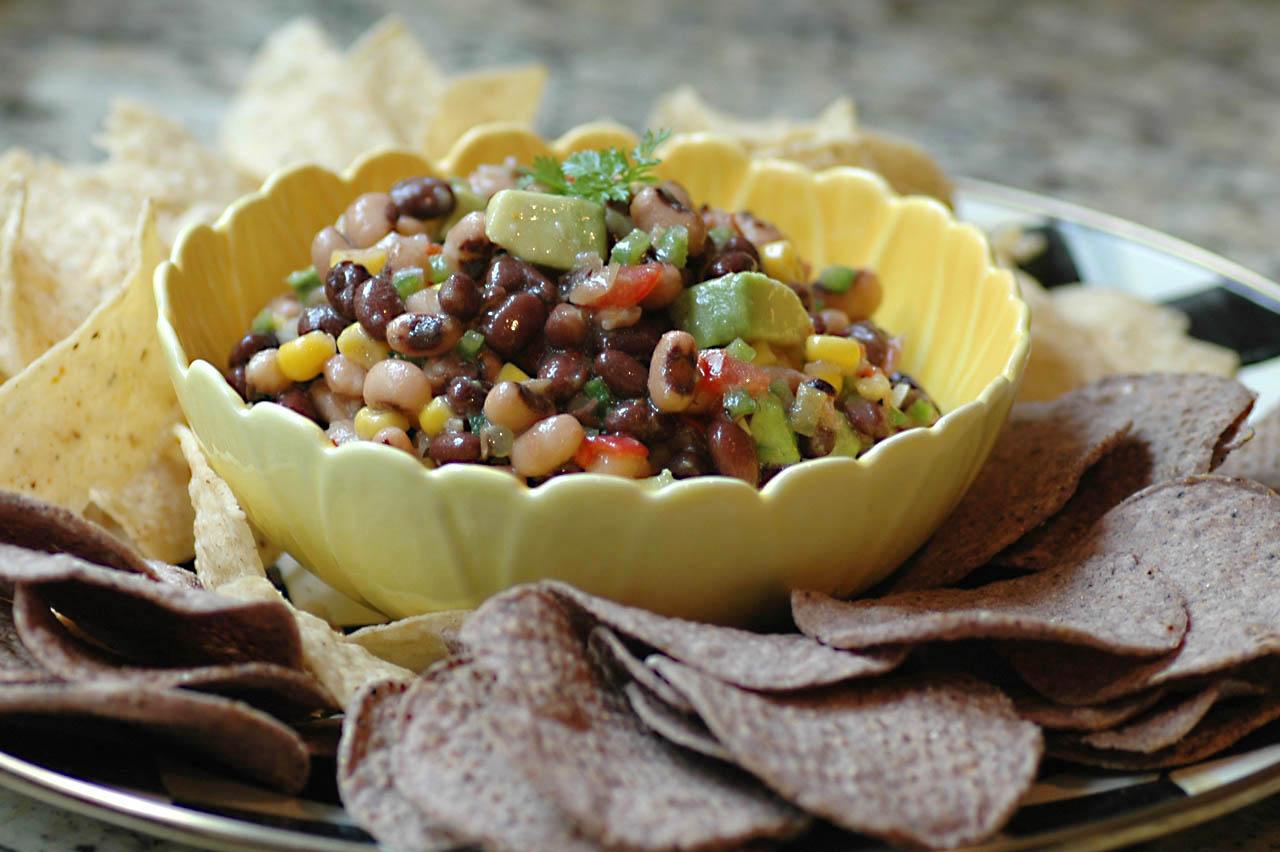 Savoring Time in the Kitchen: Black Eyed Pea Salsa