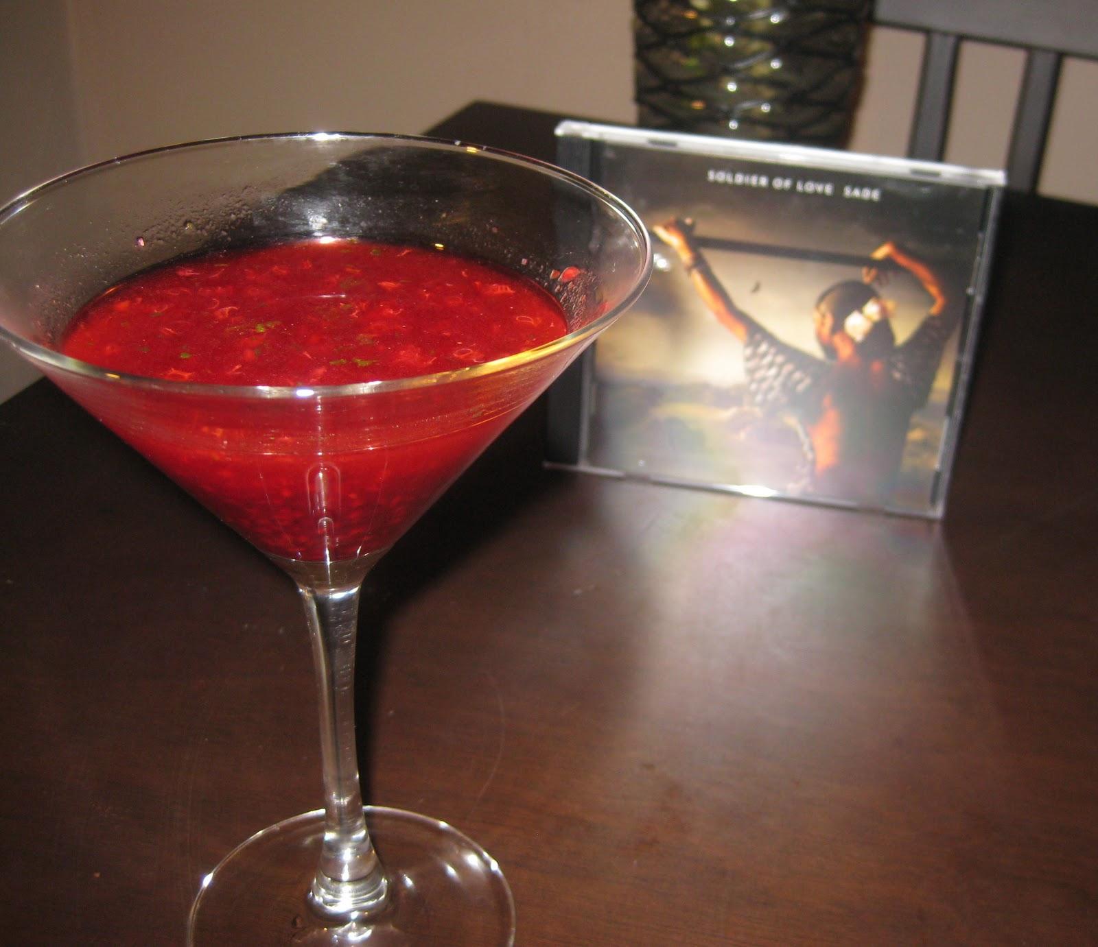 Sin Mayonesa, ¡Por Favor!: Raspberry Basil Mojito