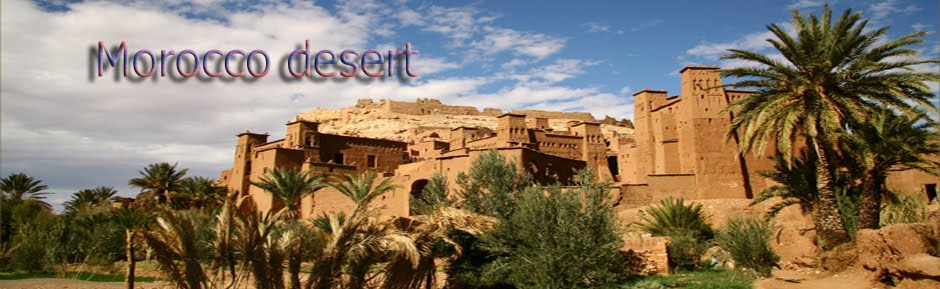 Moroccan deserts