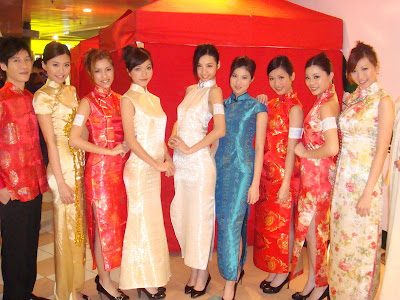 Chinese traditional dress (qipao)
