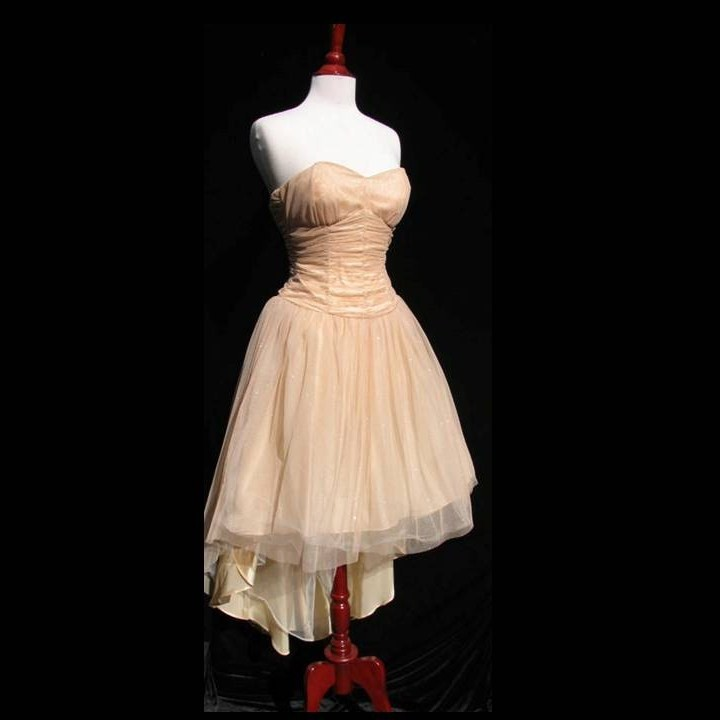 Ballet style cocktail dress