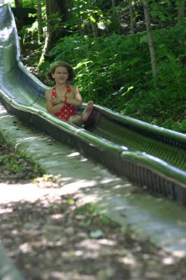 Dietzel Family Hillbilly Water Slide