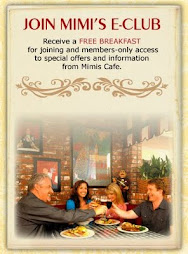 Mimi's Cafe's E-Club