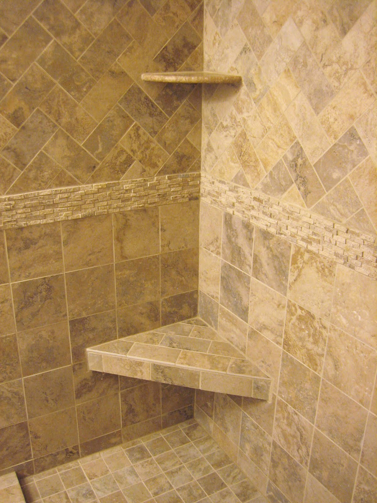 H winter showroom blog luxury master bath remodel athena for Tile shower bathroom ideas