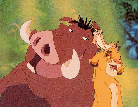 HAKUNA MATATA! It means NO WORRIES! p.s. if you read my blog, please follow