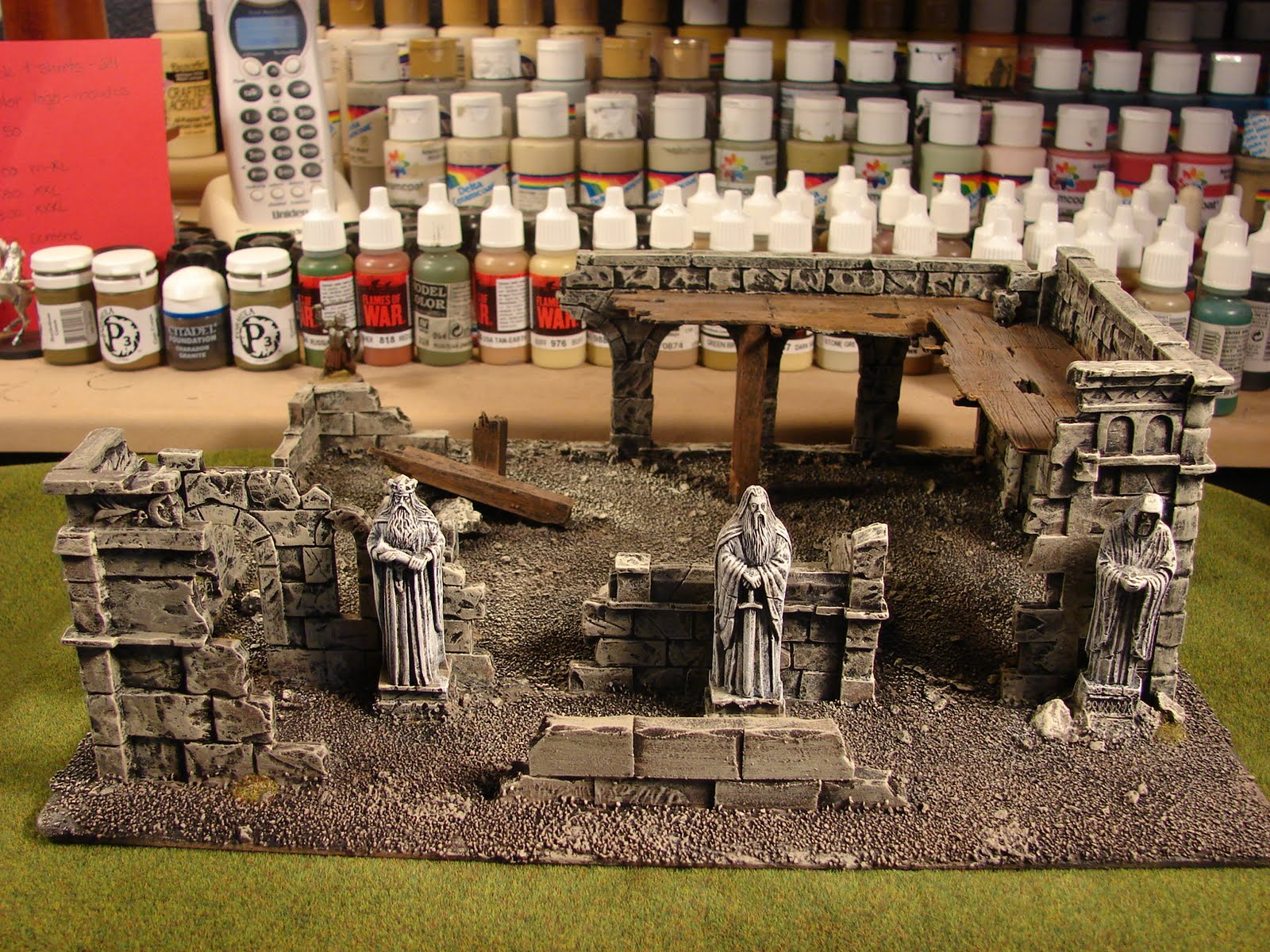 Games workshop colorado - Well I Started With 8 Of The Osgiliath Terrain Kits From Gamesworkshop Here Are A Few Of The Completed Terrain Pieces For The Table