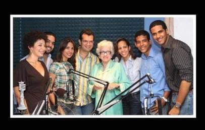 Con la Dra. Milagros Ortiz Bosch
