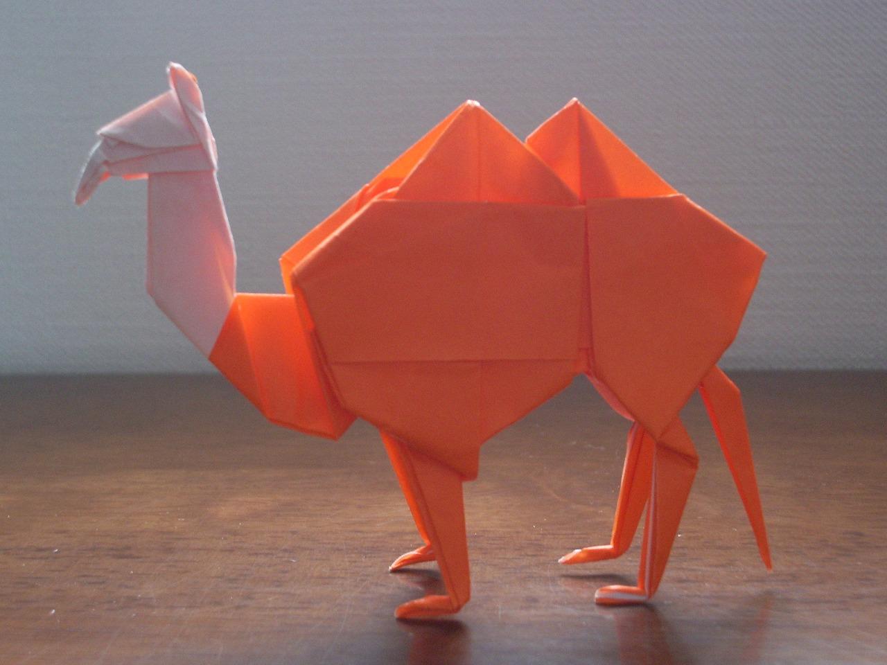 katakoto origami camel 2