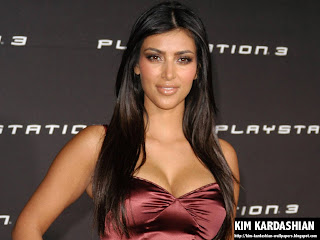 Kim Kardashian Play Station 3 Wallpaper