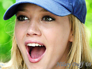 Hilary Duff Baseball Hat Wallpaper