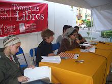 Lectura de poesía en xochimilco con Yamile