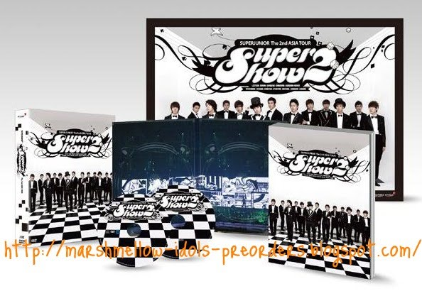 Super Junior 2nd Concert Super Show 2 DVD+Photobook Closed ~