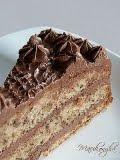 Csokis diótorta