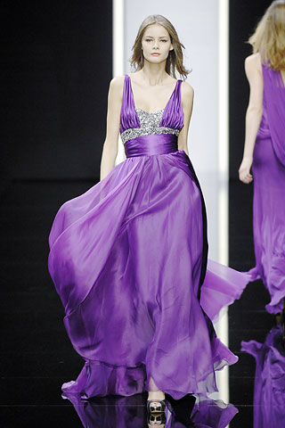 Elie Saab Fall 2008 Ready-to-Wear Collection on Style.com: Runway Review :  fashion designer gown dress