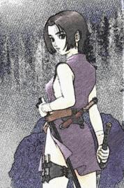Mujer  Shinobi de corazón