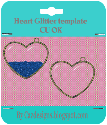 Large Heart Template Glitter heart template large