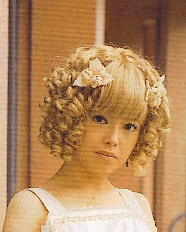 F Yeah Lolita Lolita Hairstyles Ode To The Spiral Curl - Hairstyle ringlets curls