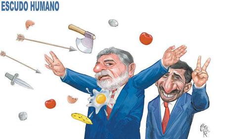 Mas será o Benedito????? Brasil está certo em apoiar investigação no Irã, diz Lula