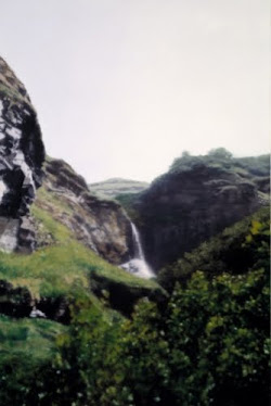 Waterfall, Gerhard Richter