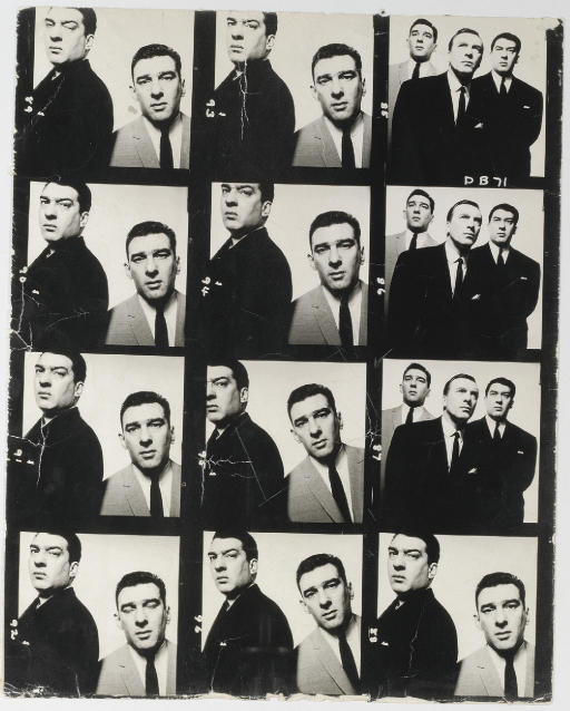 The Kray Twins, David Bailey photograph