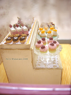 dollhouse miniature patisserie