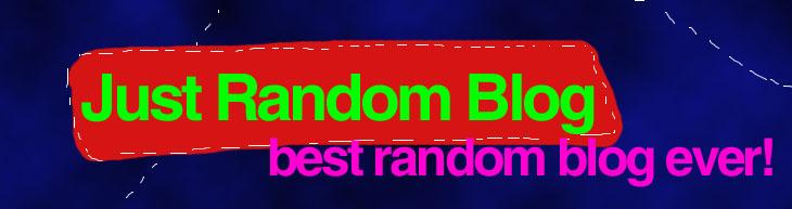 -:: Just [ Random Blog ] ::-