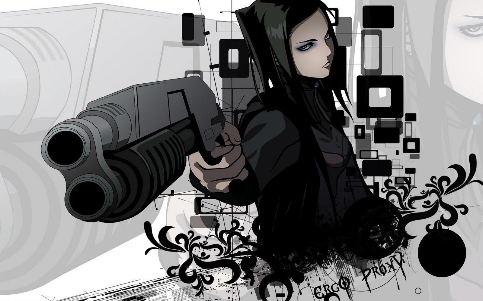 LOS MUERTEVIDEANOS: Ergo Proxy: Cyberpunk Nippon