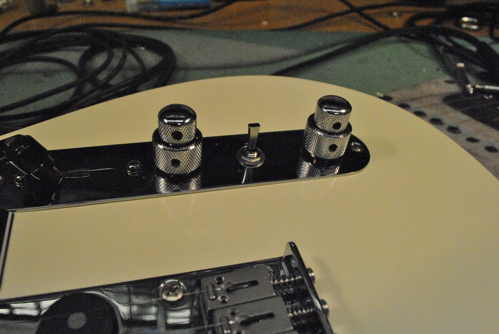 Tv Jones Pickups The Gear Page Telecaster Pickup Wiring Stack Concentric Pots Can Be Wired Just Like Separate Could So You Wire Them As Tone Volume Stacks And Control Each Independantly