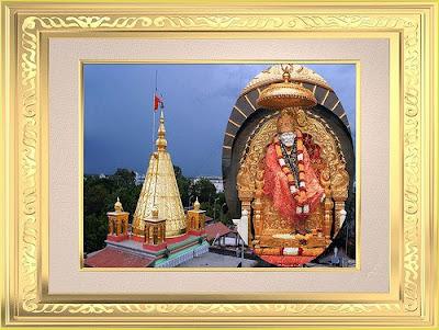 Invitation for 91th Punyatithi Festival 2009 by Shirdi Sai Baba Sansthan
