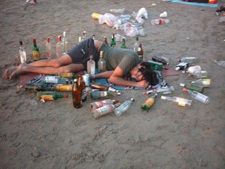 Como predisponerse dejar fumar y beber