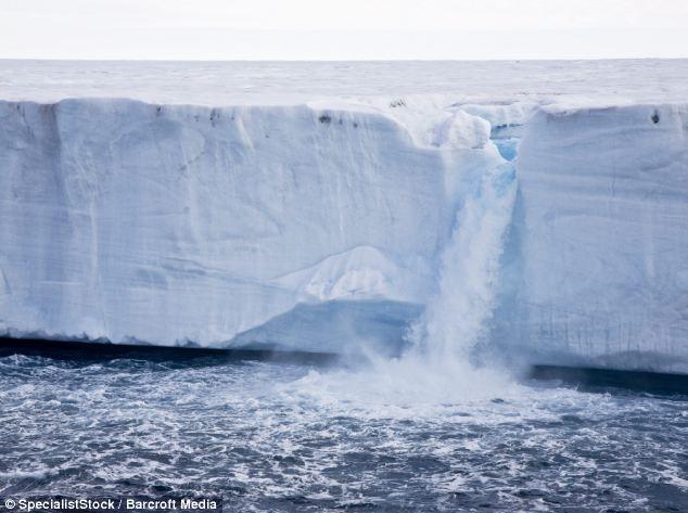 哭泣的人臉 - 北極冰川 哭泣的人臉