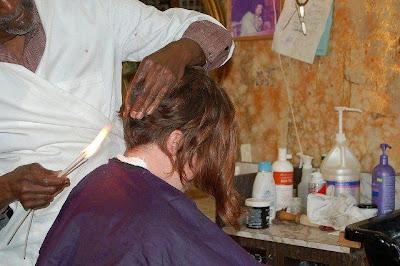 火焰理髮 - 超火的火焰理髮師