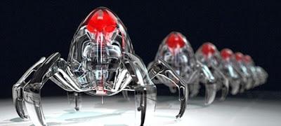 奈米蜘蛛 機器人 - DNA 奈米蜘蛛 機器人