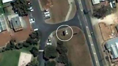 車子漂浮 衛星照片 - 車子漂浮 衛星照片 揭密