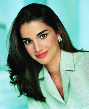 拉尼婭 最美王后 - Queen Rania 拉尼婭 世界上最美王后