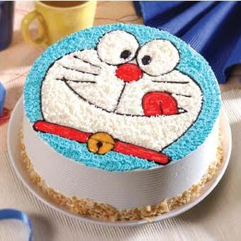 哆啦A夢蛋糕-給女友生日驚喜的哆啦A夢蛋糕