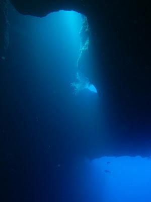 帛琉 藍洞