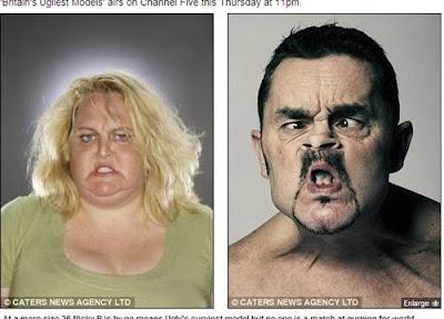 英國 醜人模特兒 公司