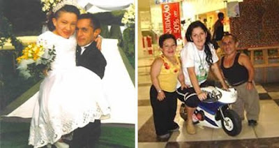 十大奇特夫妻 - 世界最矮的夫妻