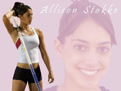 撐竿跳美女 - 撐竿跳美女 Allison Stokke