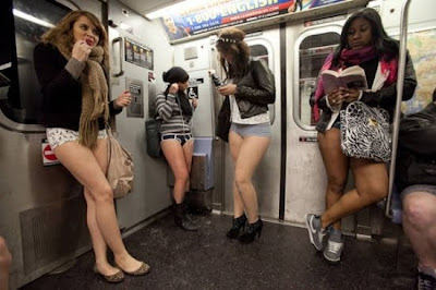 紐約脫褲日