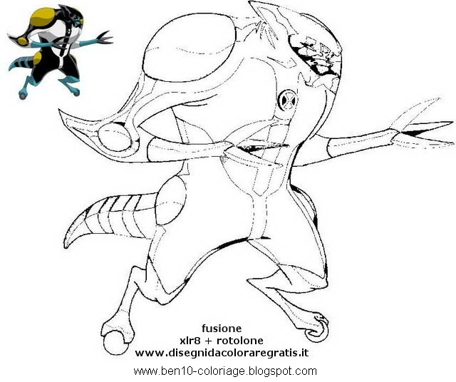 ben 10 colorer coloriage dessin color for childers coloriage