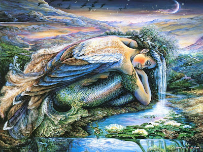 mer angel by josephine wall
