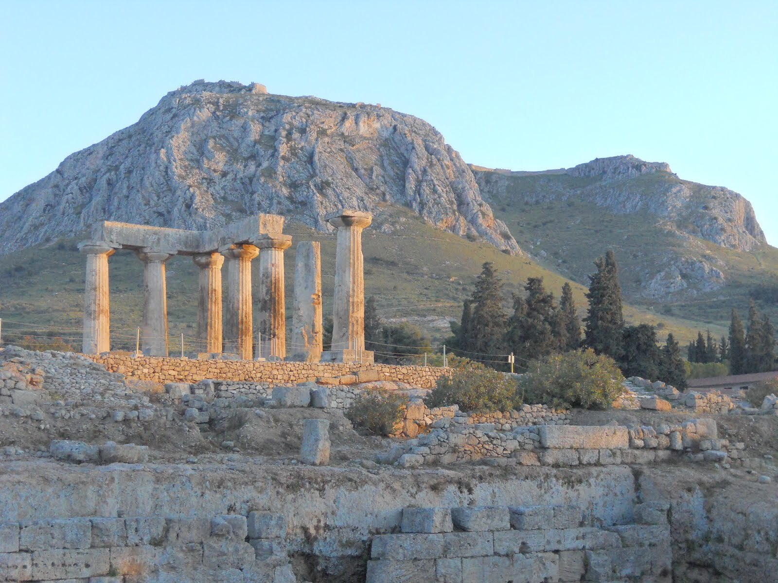 An Account of My Travels: Corinth and Onward