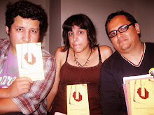 En la presentación de <i>Una Mancha En El Colchón</i> de Karina Valcárcel.