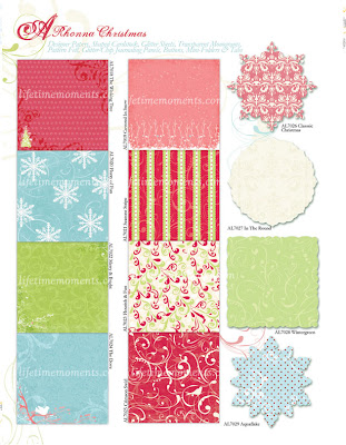 Rhonna Christmas Patterned Papers