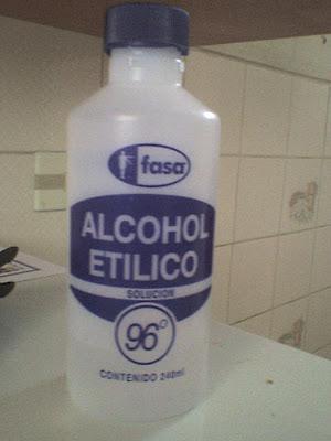 ¿Porque el alcohol no se congela?