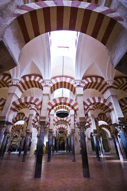 Arcadas - Mesquita de Córdoba, Córdoba, Espanha