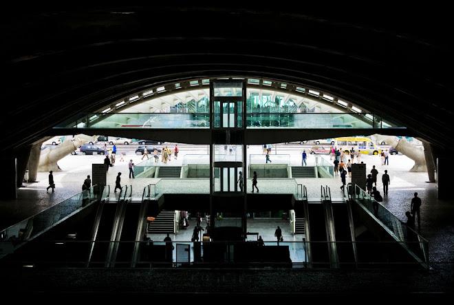 Sempre em movimento - Gare do Oriente, Parque Expo