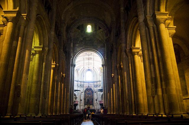 Sé de Lisboa, nave principal